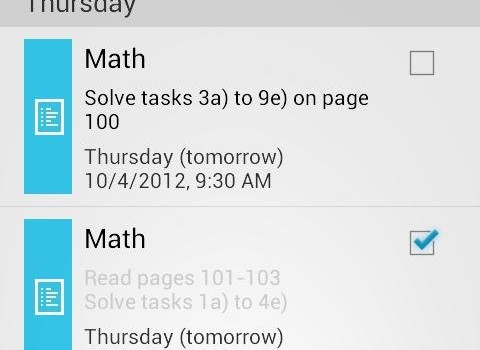 My Class Schedule: Timetable Ekran Görüntüleri - 1