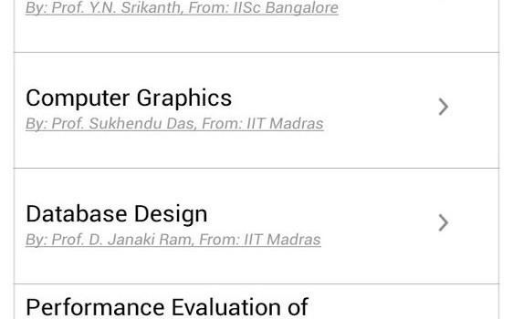 My Open Courses Ekran Görüntüleri - 2