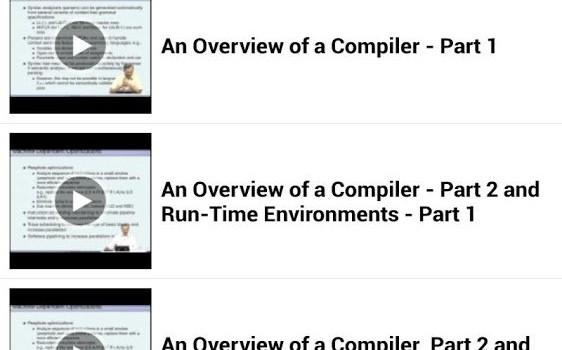 My Open Courses Ekran Görüntüleri - 1