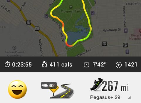 Nike+ Running Ekran Görüntüleri - 1