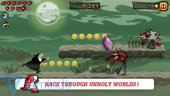 Nun Attack: Run & Gun Ekran Görüntüleri - 2