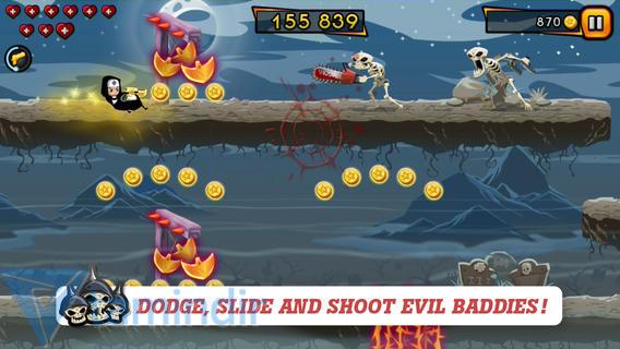Nun Attack: Run & Gun Ekran Görüntüleri - 4