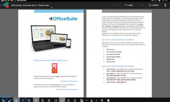 OfficeSuite 7 Ekran Görüntüleri - 5