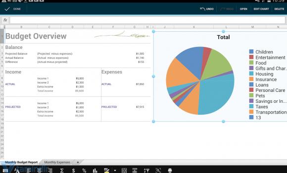 OfficeSuite 7 Ekran Görüntüleri - 3
