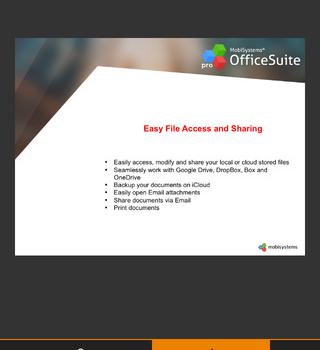 OfficeSuite Professional Ekran Görüntüleri - 2