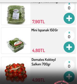 Online Market Ekran Görüntüleri - 4