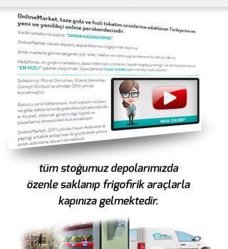 Online Market Ekran Görüntüleri - 1