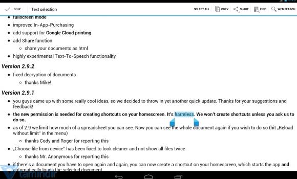 OpenDocument Reader Ekran Görüntüleri - 4