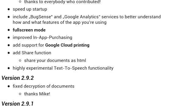 OpenDocument Reader Ekran Görüntüleri - 5