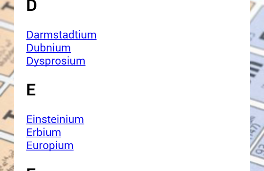 Periodic Table Ekran Görüntüleri - 3