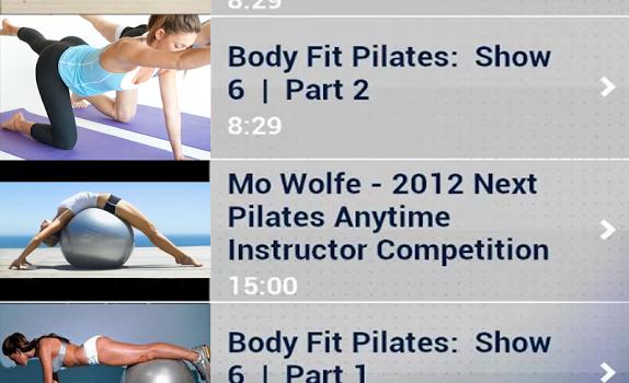 Pilates Workout Exercises Ekran Görüntüleri - 5