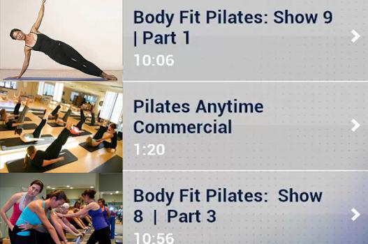 Pilates Workout Exercises Ekran Görüntüleri - 4