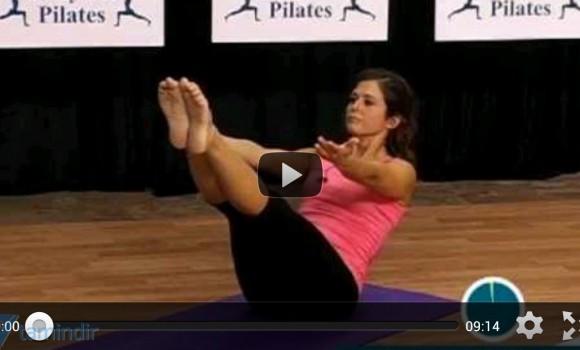 Pilates Workout Exercises Ekran Görüntüleri - 3