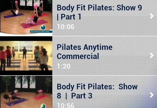 Pilates Workout Exercises Ekran Görüntüleri - 1