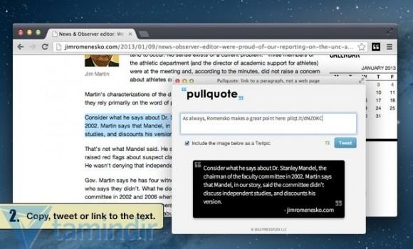 Pullquote Ekran Görüntüleri - 2