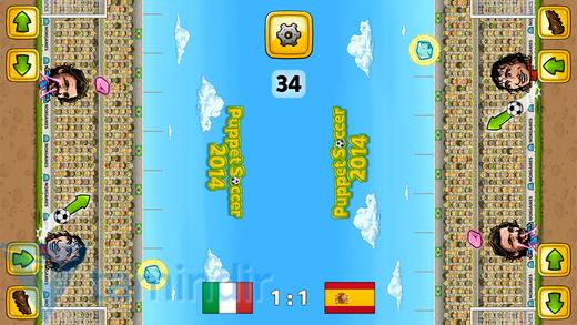 Puppet Soccer Ekran Görüntüleri - 3