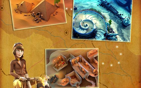 Pyramid Solitaire Saga Ekran Görüntüleri - 2