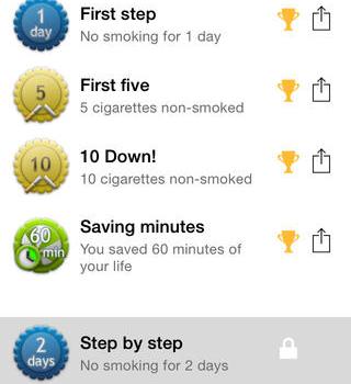 Quit smoking - QuitNow! Ekran Görüntüleri - 1