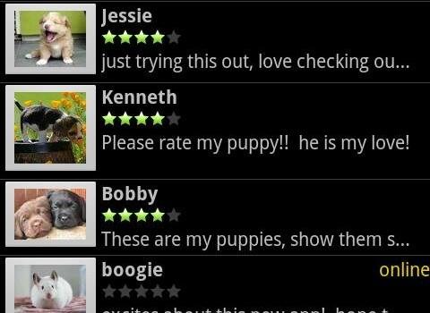 Rate My Pets Ekran Görüntüleri - 1