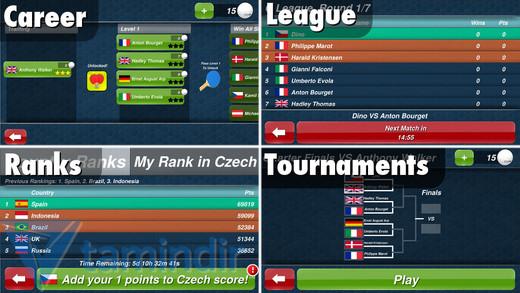 Real Table Tennis Ekran Görüntüleri - 3