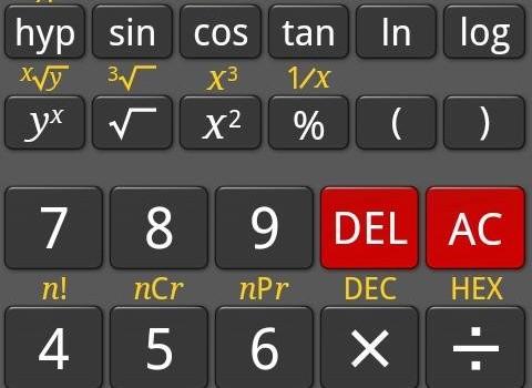RealCalc Scientific Calculator Ekran Görüntüleri - 4