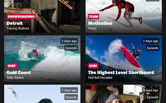 Red Bull TV Ekran Görüntüleri - 4