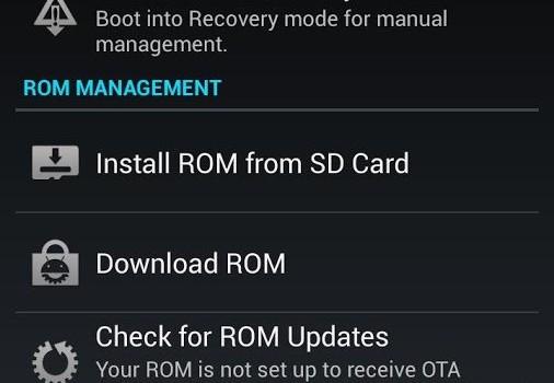 ROM Manager Ekran Görüntüleri - 3