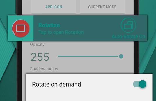 Rotation - Orientation Manager Ekran Görüntüleri - 3