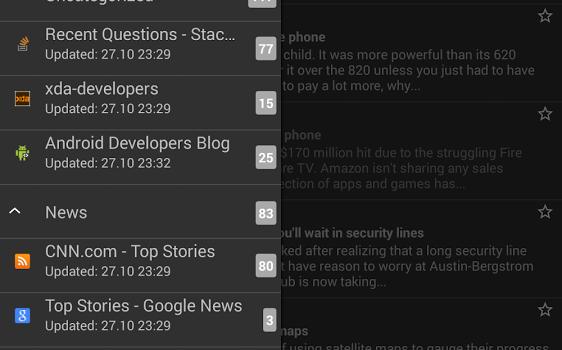 RSS Reader Ekran Görüntüleri - 2