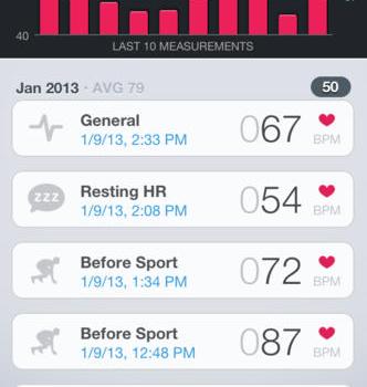 Runtastic Heart Rate Ekran Görüntüleri - 2