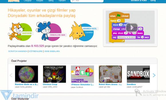 Scratch Ekran Görüntüleri - 2