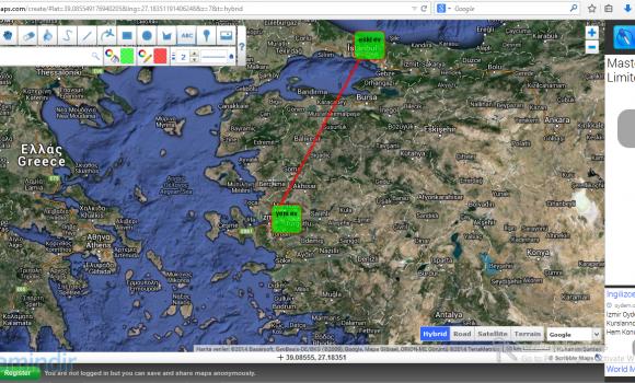 Scribble Maps Ekran Görüntüleri - 2