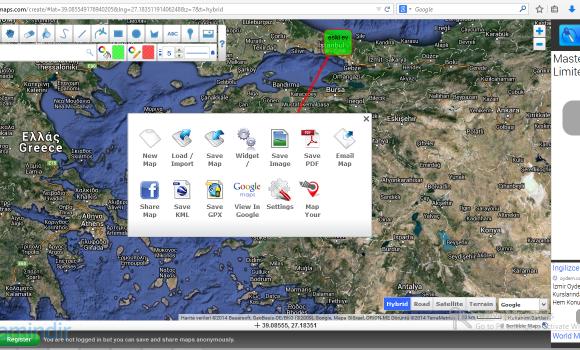 Scribble Maps Ekran Görüntüleri - 1
