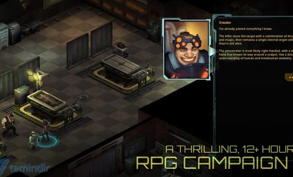 Shadowrun Returns Ekran Görüntüleri - 2