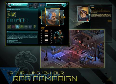 Shadowrun Returns Ekran Görüntüleri - 1