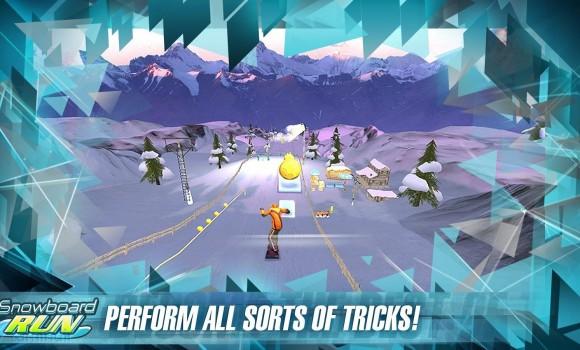 Snowboard Run Ekran Görüntüleri - 2