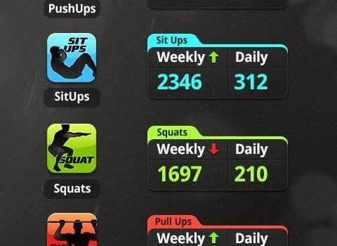 Squats Workout Ekran Görüntüleri - 1