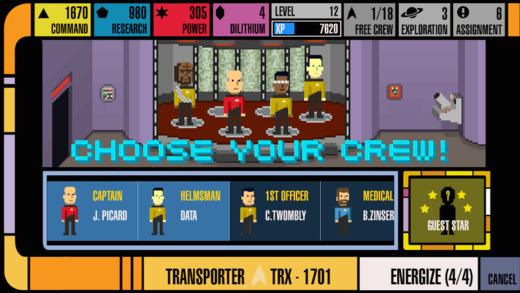 Star Trek Trexels Ekran Görüntüleri - 1