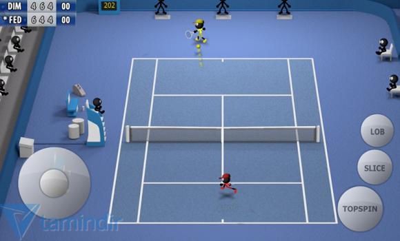 Stickman Tennis 2015 Ekran Görüntüleri - 3