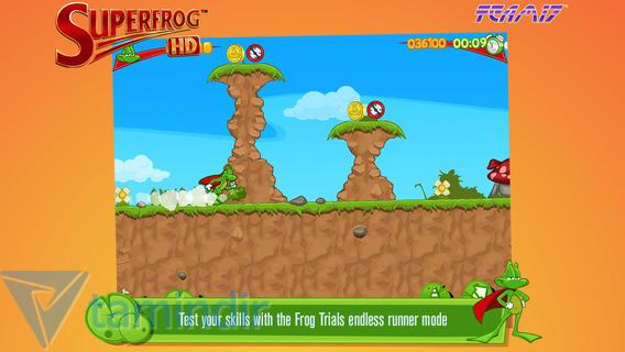 Superfrog HD Ekran Görüntüleri - 5