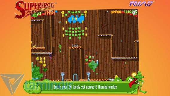 Superfrog HD Ekran Görüntüleri - 3