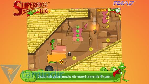 Superfrog HD Ekran Görüntüleri - 2