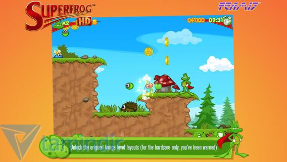 Superfrog HD Ekran Görüntüleri - 1