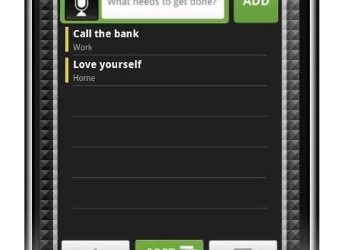 Task List Ekran Görüntüleri - 1
