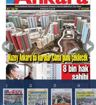 T.C. Ankara Büyükşehir Belediyesi Ekran Görüntüleri - 1