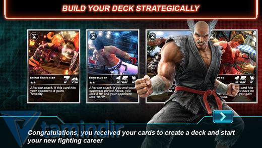 Tekken Card Tournament Ekran Görüntüleri - 3