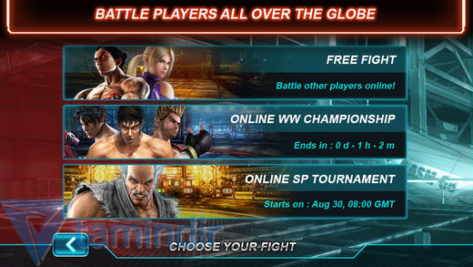 Tekken Card Tournament Ekran Görüntüleri - 2