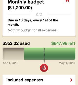 Toshl Finance Ekran Görüntüleri - 1
