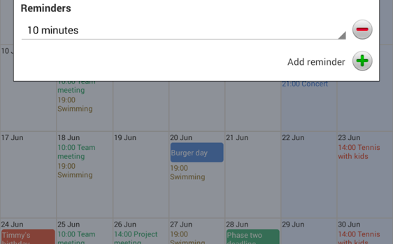 Touch Calendar Ekran Görüntüleri - 1