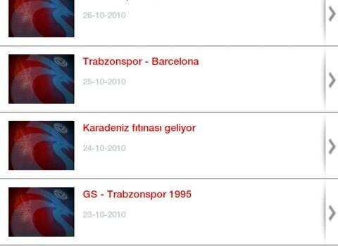 Trabzonspor SK Ekran Görüntüleri - 1